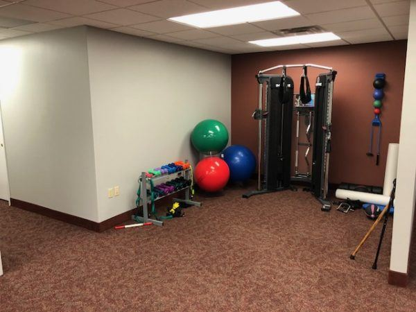 Berea strength building fitness area
