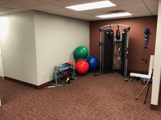 Berea strength building fitness area