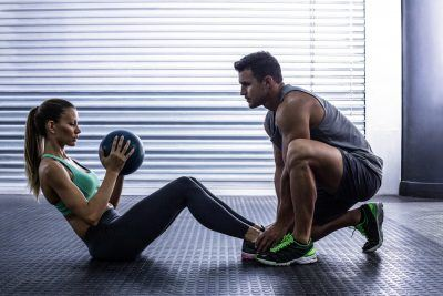 Fitness Training with a partner can be very beneficial to your motivation and health!