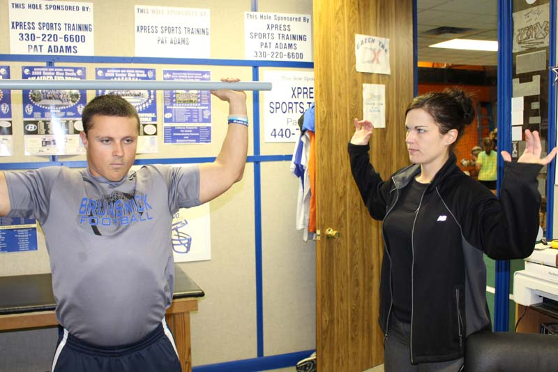 Ferrell Whited specialist helping with physical therapy
